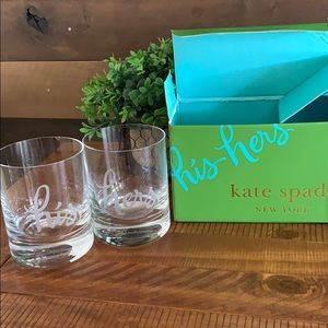 Kate Spade His & Hers Glasses
